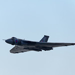 Avro Vulcan XH558 at Weston Super Mare, 22-6-2014 (IMG_1107) 4k