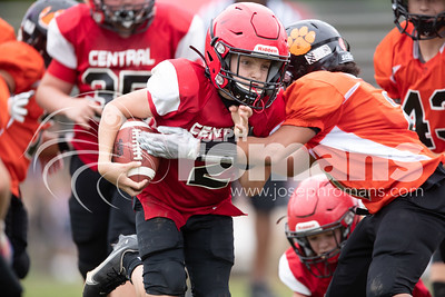 Central @ Brooks Youth Football 09/22