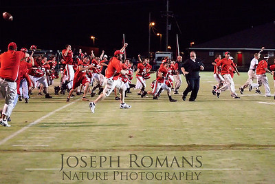The Celebration after beating West Limestone in overtime.