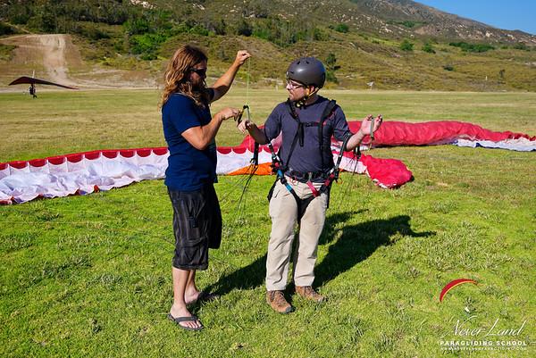 Paragliding Lessons, June 9-10th 2018
