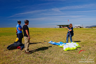 NeverLand Paragliding Lessons, May 5, 2018