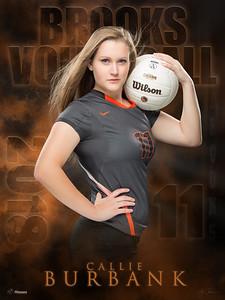 Callie Burbank Volleyball Banner