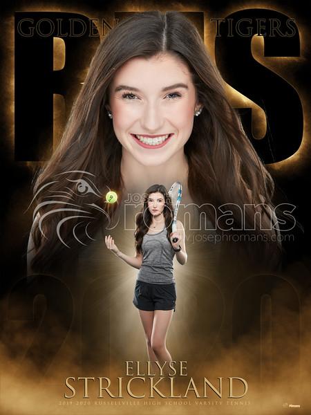 Alise Strickland Tennis Banner
