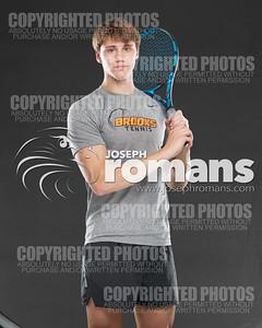 Brooks Tennis Banners59092