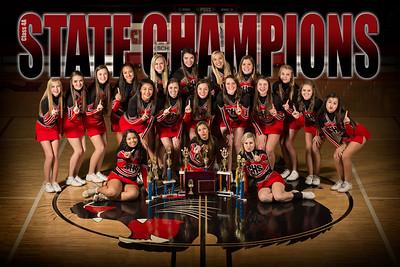 Cheerleaders State Champ