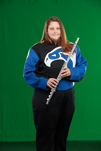 FHS Band Banner Shoot10934