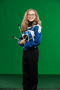 FHS Band Banner Shoot10939