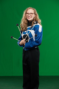 FHS Band Banner Shoot10937