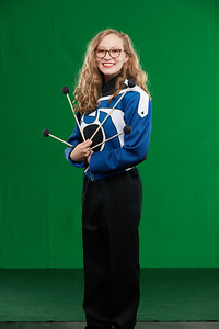 FHS Band Banner Shoot10938