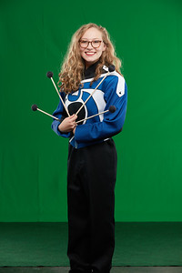 FHS Band Banner Shoot10941