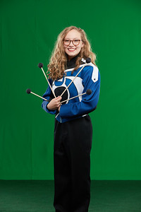 FHS Band Banner Shoot10942