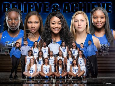 FHS Girls Basketball Banner