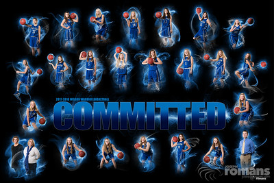 Wilson Girls Basketball Poster
