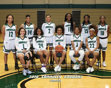 2018 Lady Cougars Basketball
