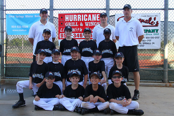 2012 U9 Marlins Team Pictures