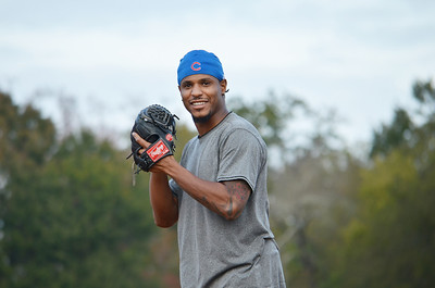 Edwin Jackson Baseball Camp 2013