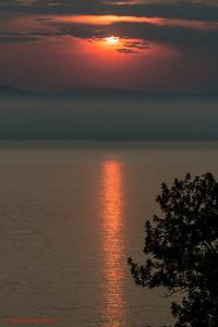 Coucher de soleil à Rivière-du-loup II