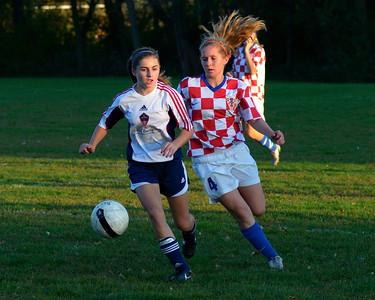 111004 State League at Croatia Eagles Girls 96 Blue L 0-2 (181)