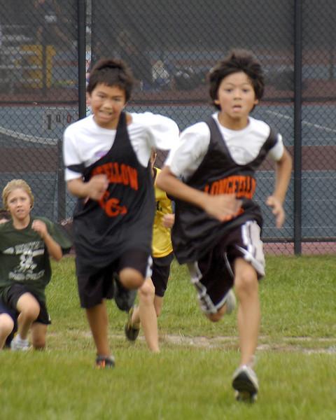 Longfellow Boys Cross Country 2008
