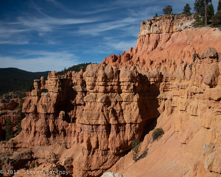 Chimney Rock / Keyhole Arch Trail - Dixie National Forest near Tropic Reservoir