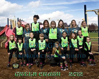 8 U Green Crush  Team Pictures