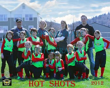 10U Hot Shots Team Pics