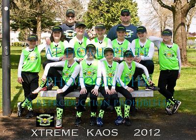 10U Xtreme Kaos Team Pics