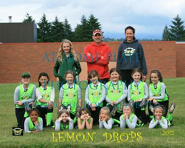 8U Lemon Drops Team Pic