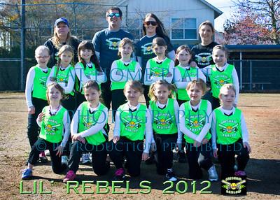 8U Lil' Rebels Team Pics