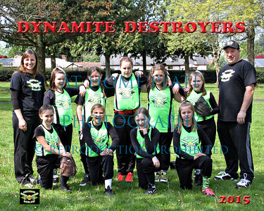 10U Dynamite Destroyers  - coach Jamie and Jason