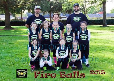 8U Fireballs  - Coach Aaron