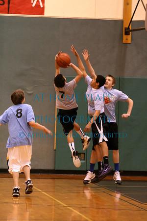 Basketball - Boys Gray shirts vs Blue shirts
