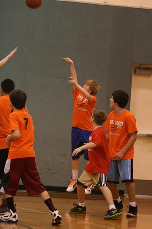 Basketball :Boys Red shirts vs Orange shirts