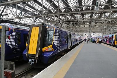 380112 has brought me from Edinburgh