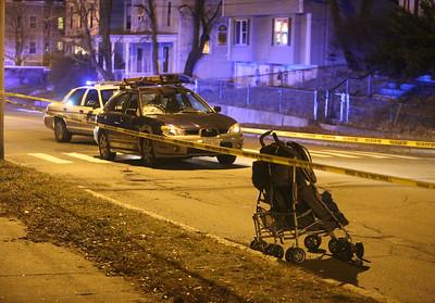 Fletcher St accident scene 121815
