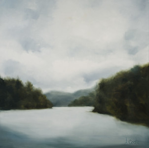 "Andrea Costa ""Lake Burton"" 40 x 40 $2,200"