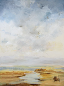 "Lois Arrechea  ""Clearing"" 36 x 48 $1,895"
