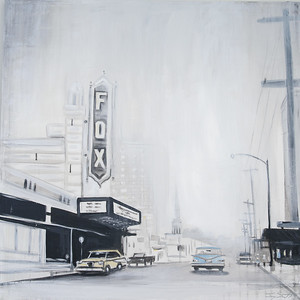 "Jay Scott ""Fox Theatre"" 48 x 48 $1,820"