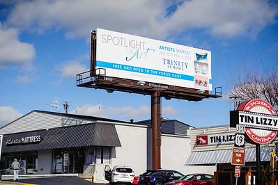 Spotlight on Art Billboard
