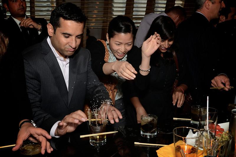 Saki Bomb @ Blowfish Restaurant + Saki Bar