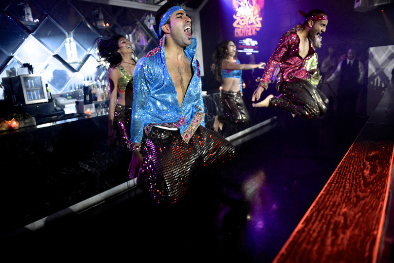 @BrokenDance perform at @Zark17's #Bollywood Birthday party at @Maison_Mercer.