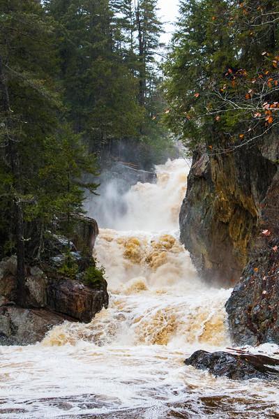 Smalls Falls after a big October storm