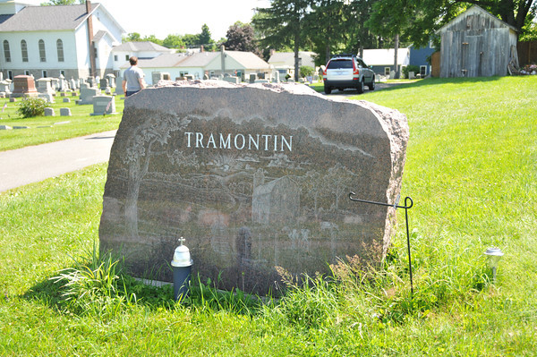 Tramontin Burial Site<br /> Moravian Cemetery<br /> Blairstown, NJ