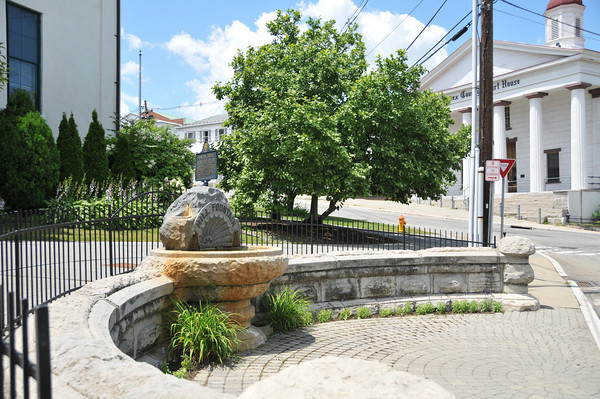 The Fountain<br /> <br /> Downtown Center Green, Newton, NJ