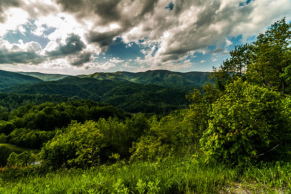 North Carolina/Tennessee Mountain range