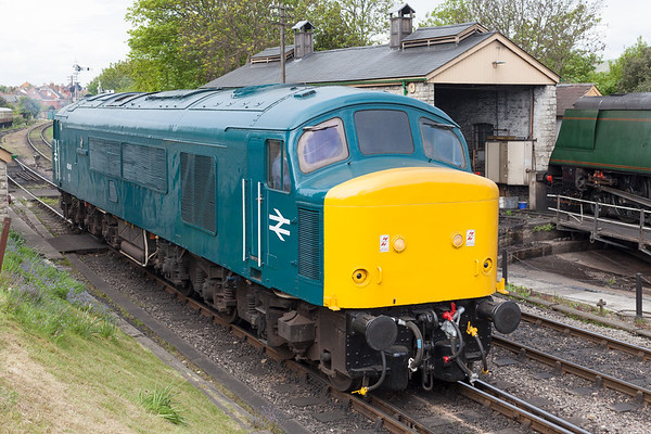 45041. Royal Tank Regiment. Swanage Diesel Gala 2017. 5.5.17