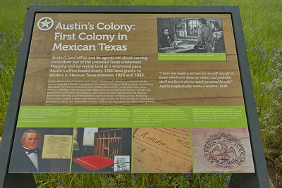 Austin's Colony:  First Colony in Mexican Texas