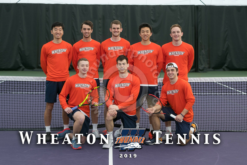 Wheaton College 2019 Men's Tennis Team