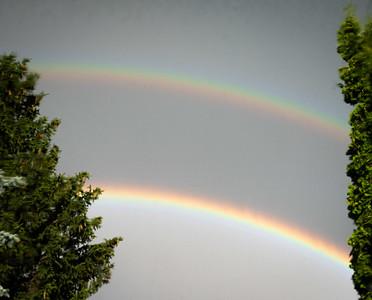 Rainbows on July 9 2020 by Barry Headrick