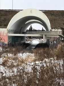 Graffiti Tunnel by Josie Richardson
